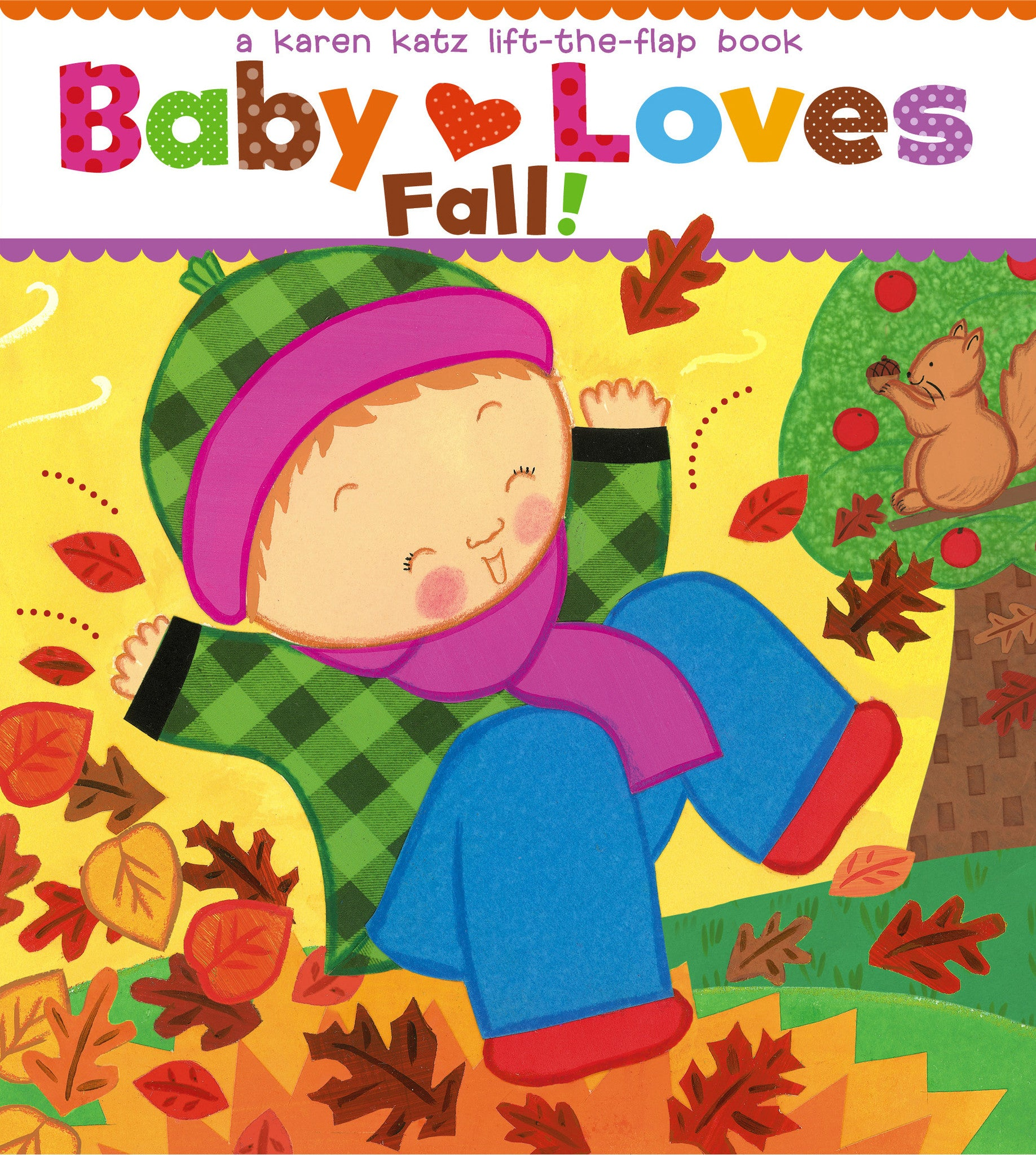 Baby Loves Fall!