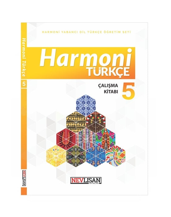 HARMONi Turkce Calisma Kitabi-5 (Workbook)