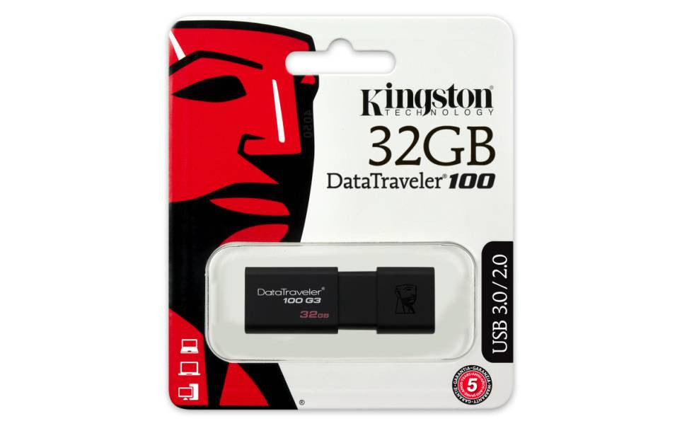 Kingston 32GB Data Traveler 100 USB 3.0/2.0