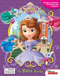 DISNEY SOFIA THE FIRST MY BUSY BOOK