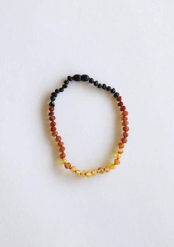 CanyonLeaf - Kids: Raw Ombre Amber Necklace