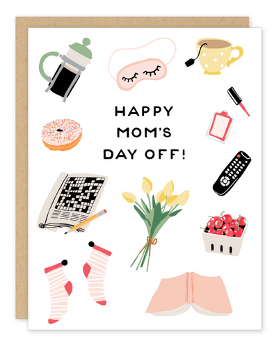 Party of One - Mom's Day Off Mother's Day Card