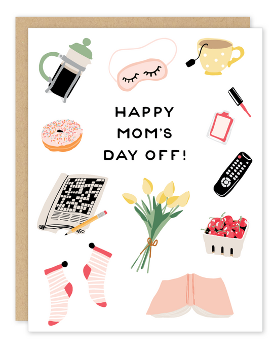 Party of One | Mom's Day Off Mother's Day Card