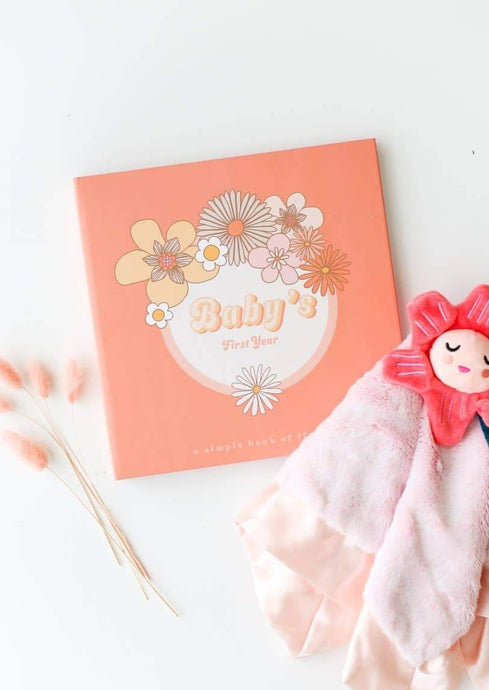 Lucy Darling | Flower Child Memory Book | Baby's First Year