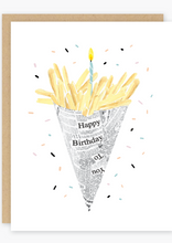 Party of One - Birthday Fries Card