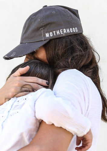 to: little arrows | Motherhood Distressed Baseball Hat