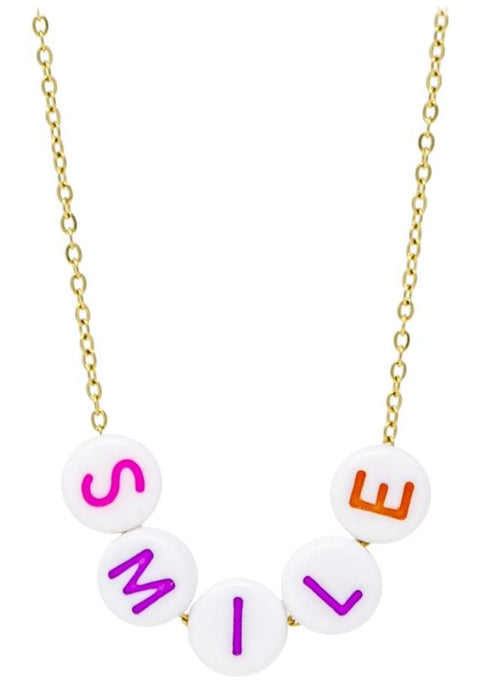 Zomi Gems Smile Necklace