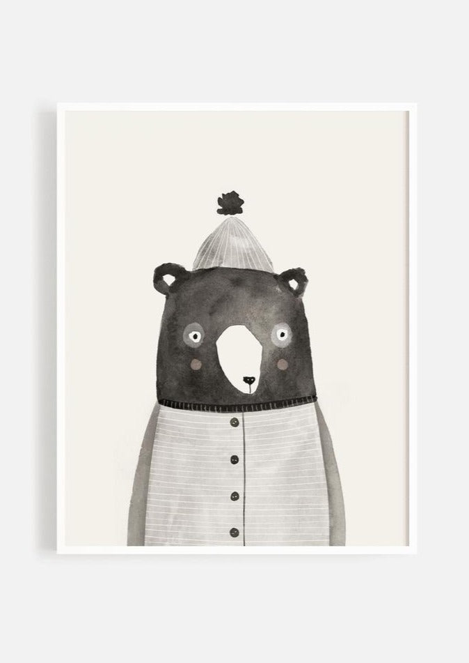Rylee and Cru | Mr.Bear Art Print | 11 X 14