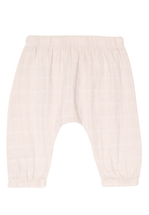 Go Gently Nation Gauze Baby Pant in Pink Tint