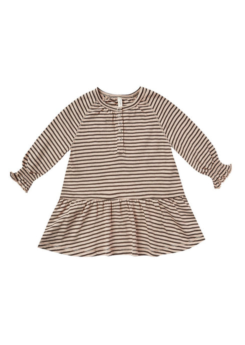 Rylee and Cru | Swing Dress | Oat/Black Stripe