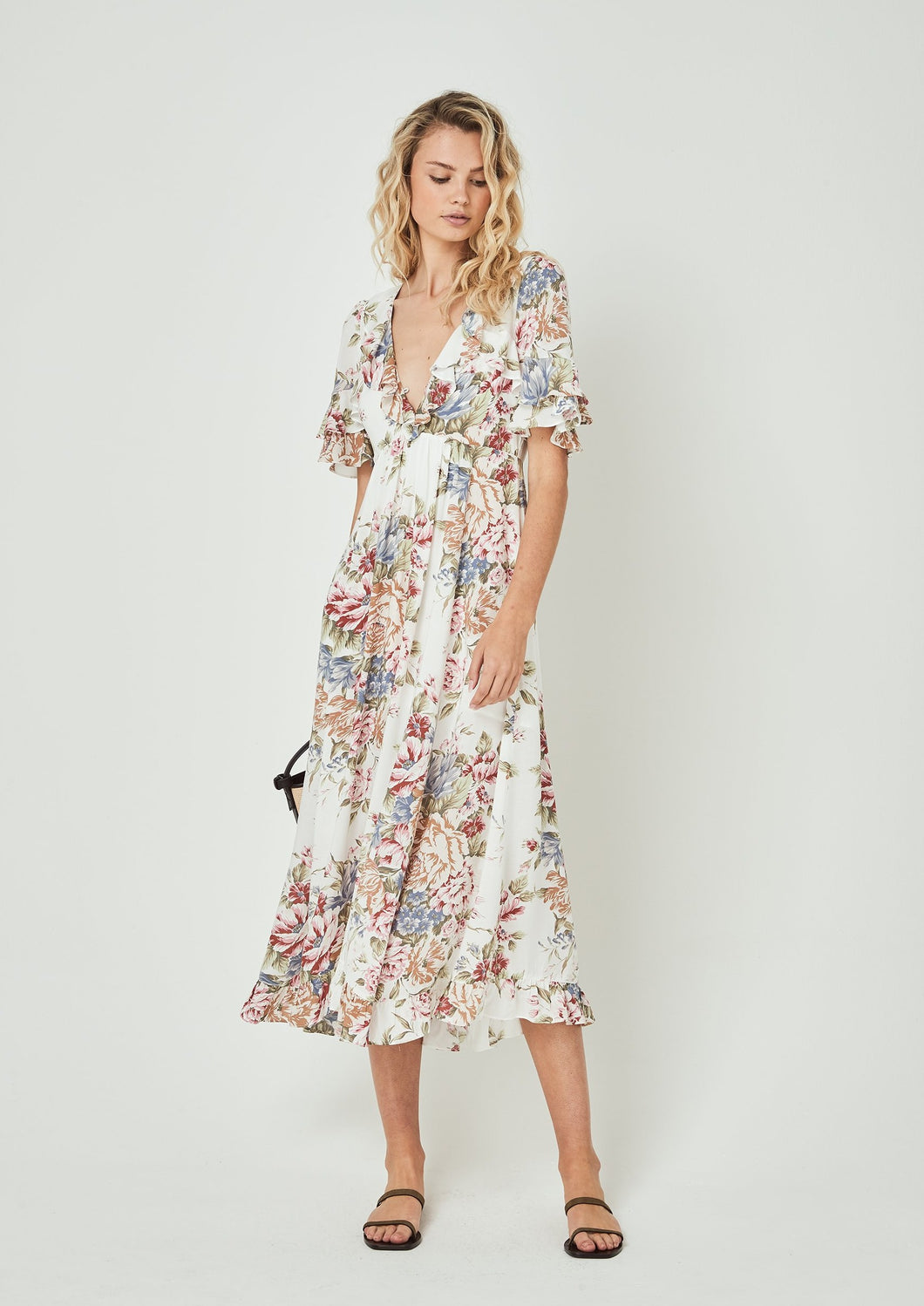 Auguste the Label | Sadie Goldie Maxi Dress | Ivory