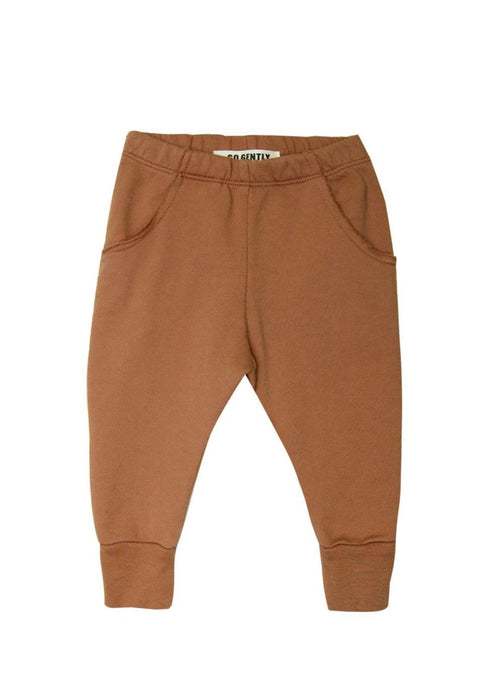Go Gently Nation Raw Pocket Track Pant Clay