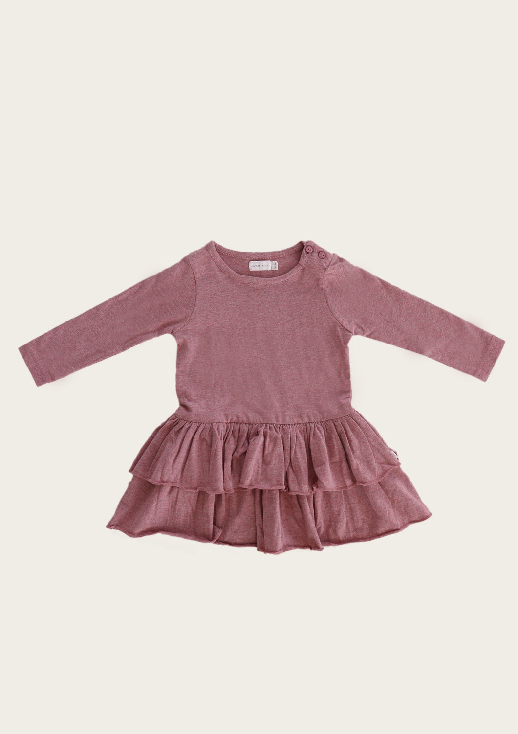 jamie kay echo dress in berry fizz