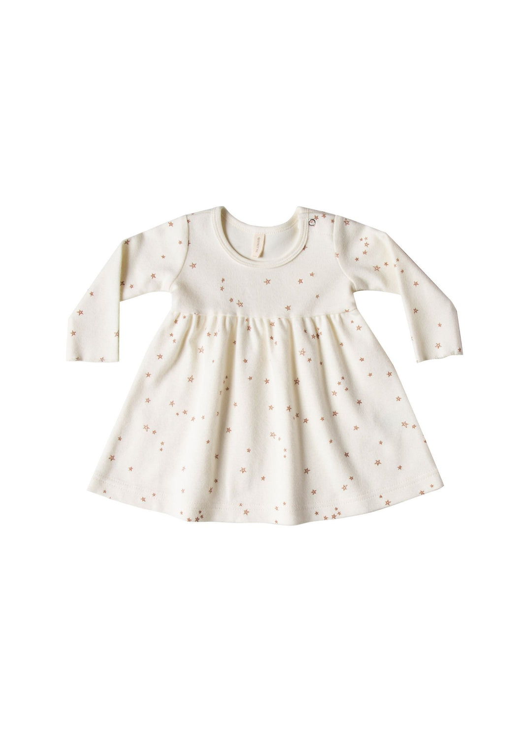 Quincy Mae | Longsleeve Baby Dress | Ivory