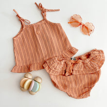 Tocoto Vintage | Baby Striped Bloomer