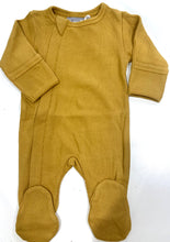 Coccoli | Modal Zipper Footie | Mustard