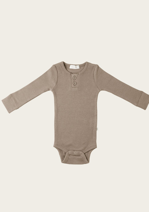 Jamie Kay Essential Ribbed Bodysuit in Basil