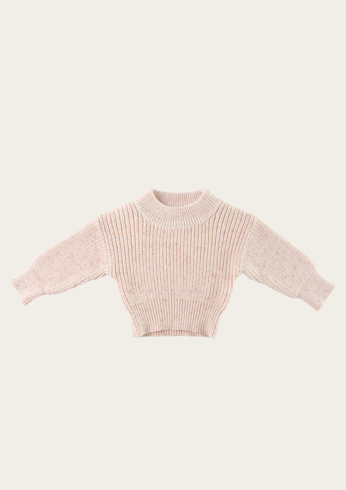 jamie kay morgan knit in pastel fleck