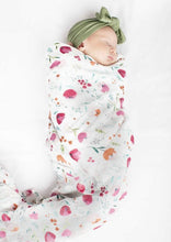 Loulou LOLLIPOP  | Bamboo Muslin Swaddle | Rosey Bloom