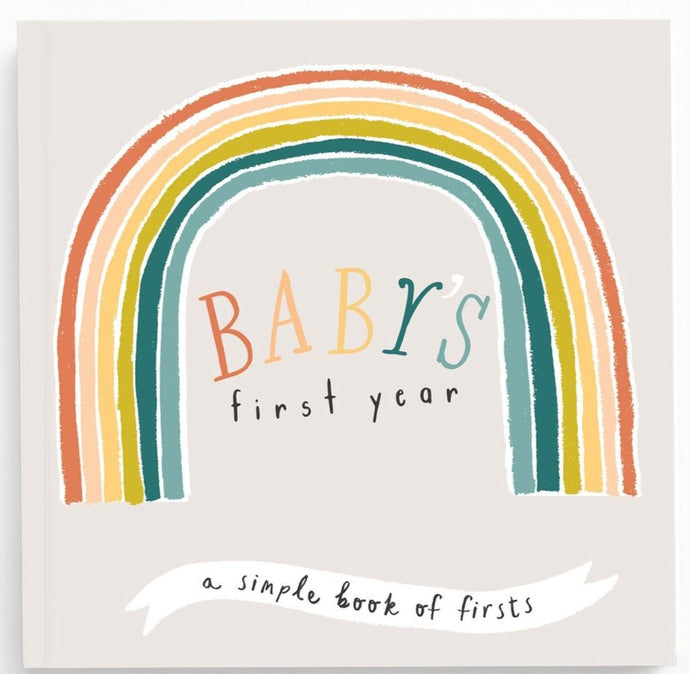Lucy Darling | Little Rainbow Memory Book | Baby's First Year