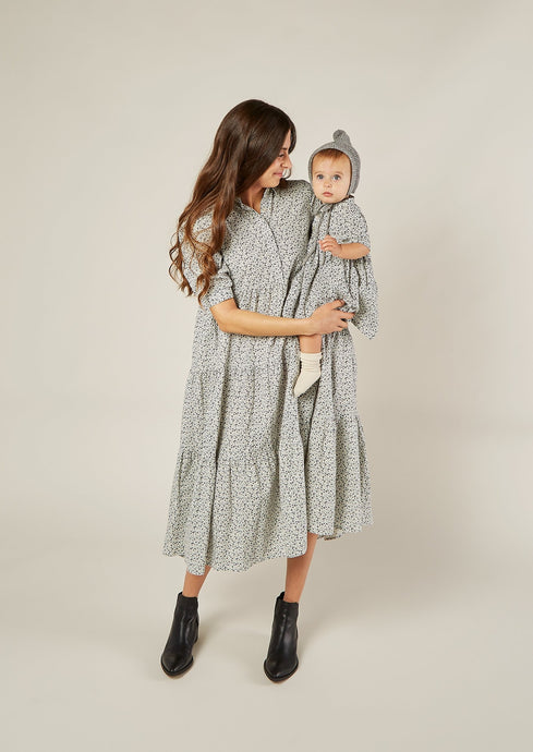Rylee and Cru | flower field camilla dress | ivory