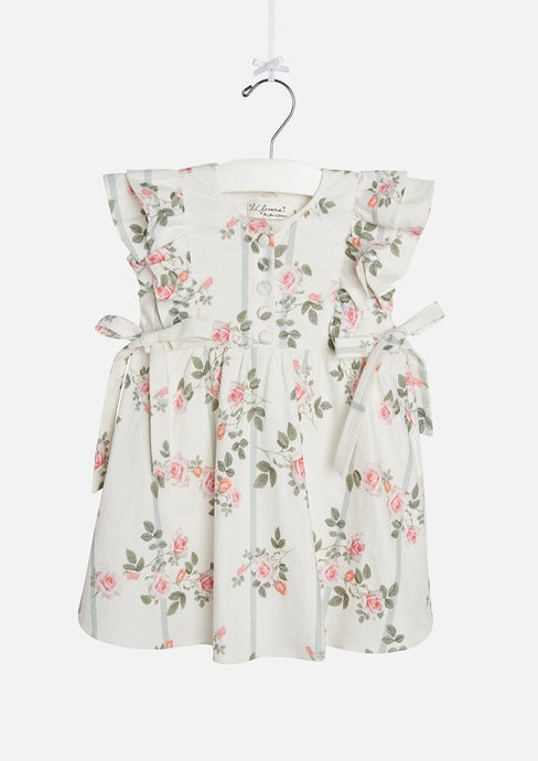 Lil Lemons | Rose Garden Dress | Ivory