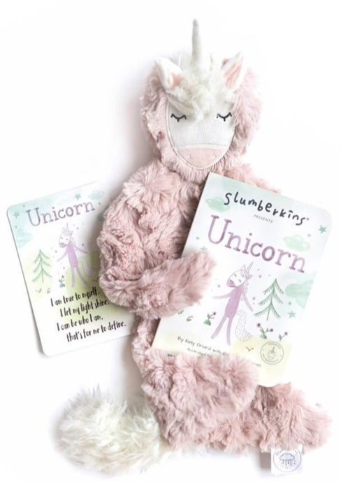 Slumberkins | Unicorn Bundle | Rose