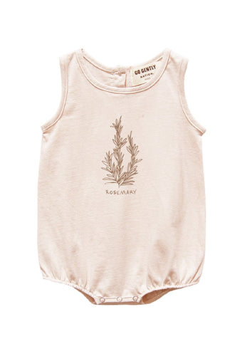Go Gently Nation | Rosemary Jersey Onesie | Pink