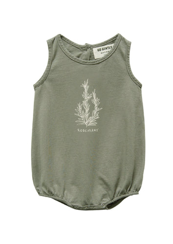 Go Gently Nation | Rosemary Jersey Onesie | Thyme