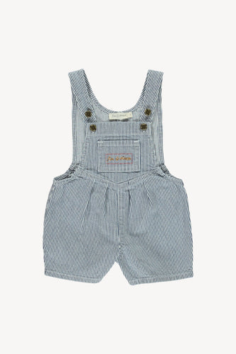 Fin & Vince | Denim Short Overall