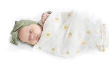 Loulou LOLLIPOP | Bamboo Muslin Swaddle | Rise & Shine