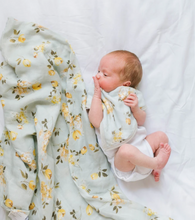 Loulou LOLLIPOP  | Bamboo Muslin Swaddle | Wild Rose