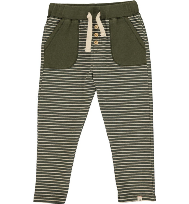 Me & Henry | joggers | sage stripe PREORDER