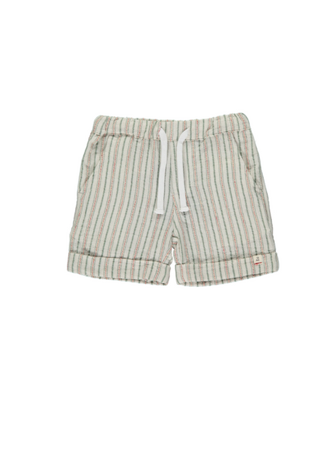 Me & Henry | textured stripe short | blue