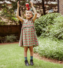 Pink Chicken | Caroline Dress | Olive Green Apple