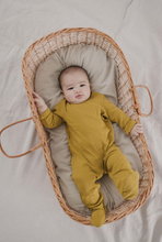 Fin & Vince | Long Sleeve Onesie | Chartreuse