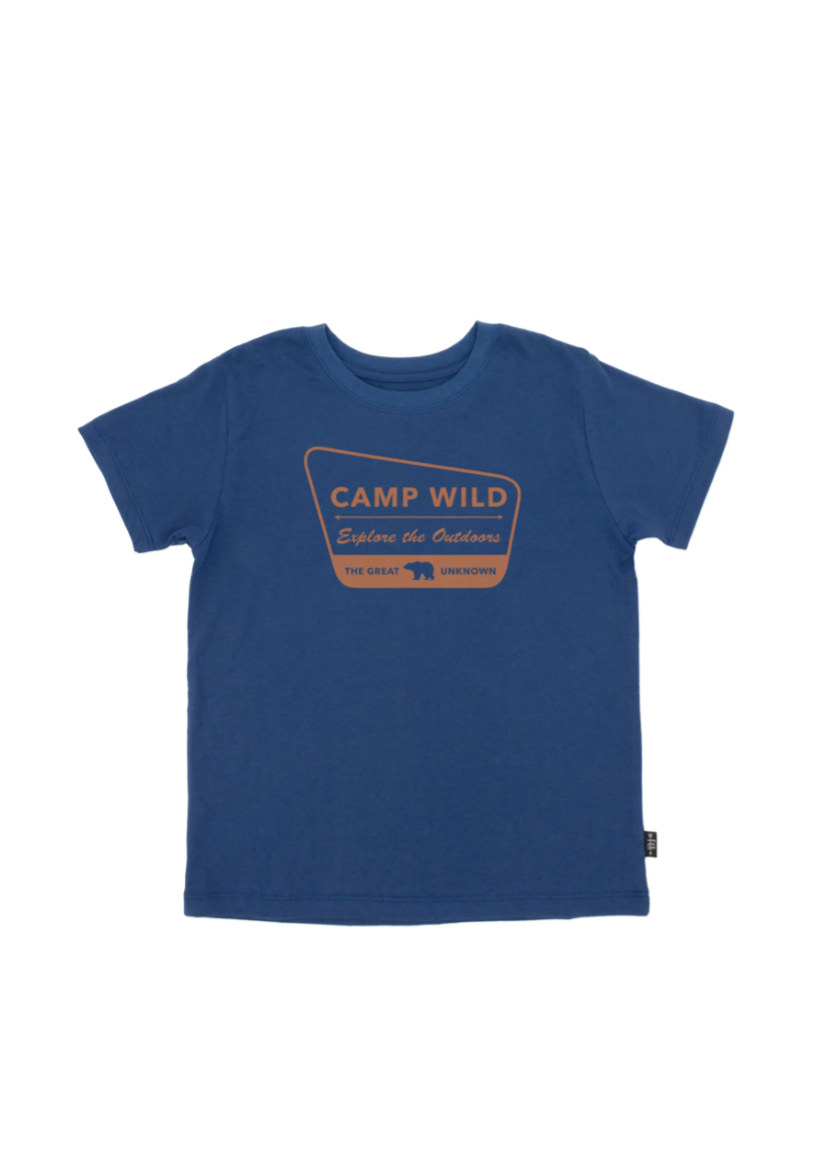 Feather 4 Arrow Camp Wild Vintage Tee