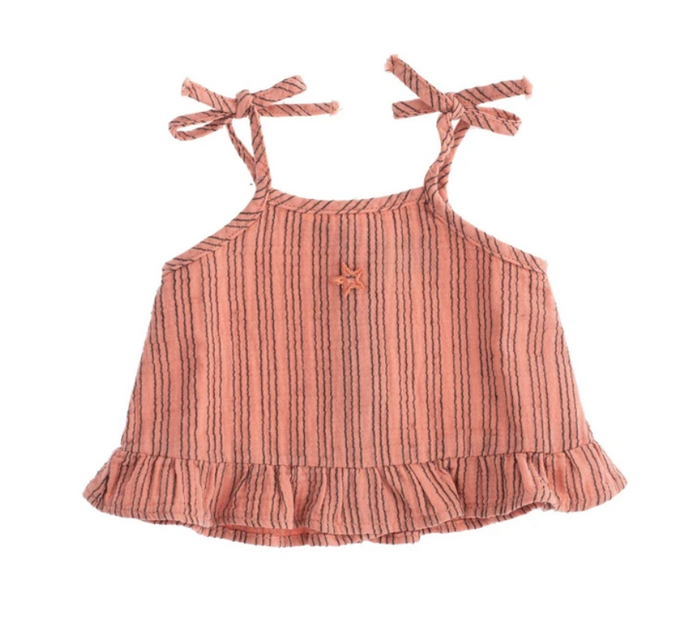 Tocoto Vintage | Baby Striped Blouse
