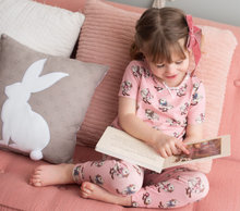 Pink Chicken | Spring PJ Set | Strawberry Cream Chicks