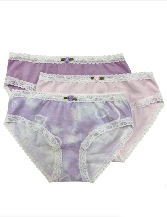 Esme Cloud Hearts Panties