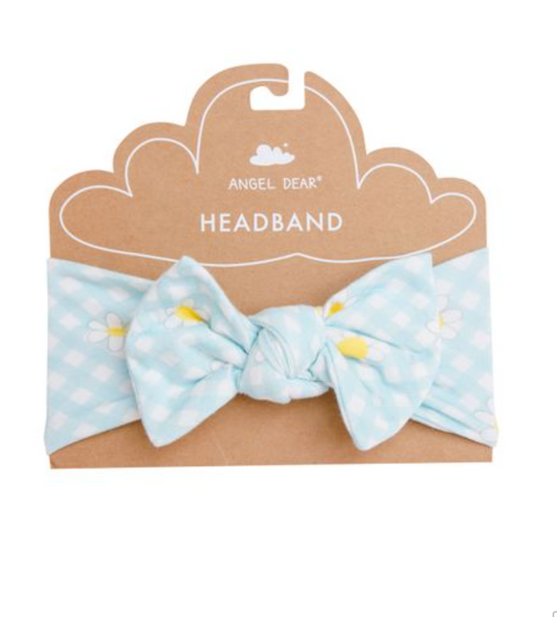 Angel Dear | Headband | Gingham Daisy
