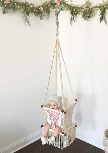 Hang a Hammock Collective | Macrame Hammock Baby Swing