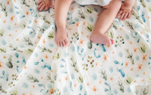 Loulou LOLLIPOP  | Bamboo Swaddle | Cactus Floral