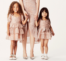 Lil Lemons | la villette party dress | champagne
