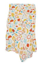 Loulou LOLLIPOP  | Bamboo Swaddle | cutie fruits