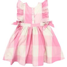 Pink Chicken | amy dress | sea pink gingham