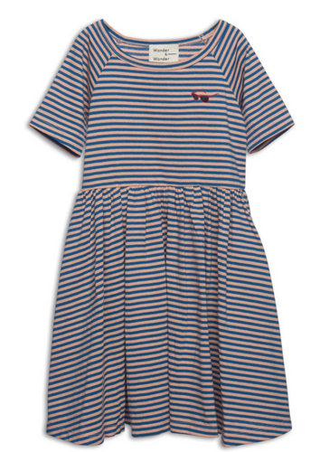 Wander & Wonder | Marine Dress | Taupe Stripe