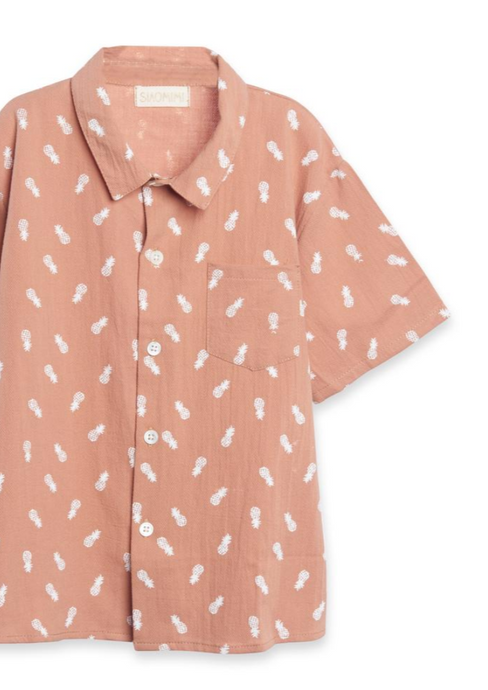 Siaomimi | Summer Shirt | cinnamon pineapple