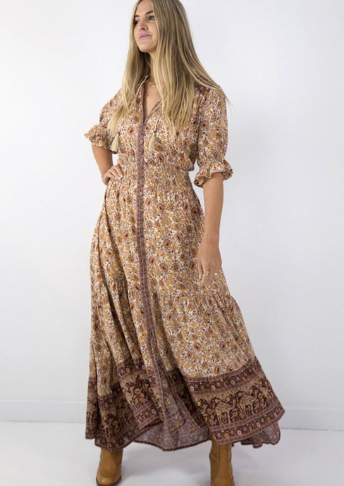 Spell & Gypsy Collective Sundown Gown Spice