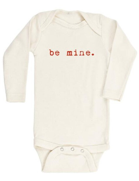 Tenth & Pine be mine onesie in red